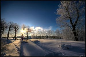 Winter shadows by Jurnov