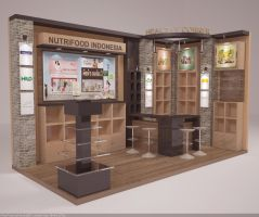 Exhibition Booth Trade Expo 2014 by hobigrafix