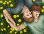 Dandelions by vongue