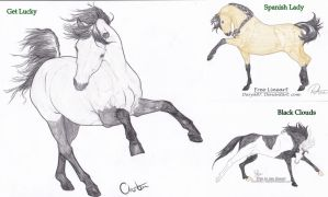 Horse Adopts by ForeverFallen16