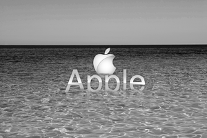 Apple Ocean BW by FT69