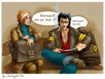 Remus and Wolverine by ildi