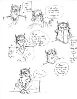 Dar Bersow concept sketches by Dreamkeepers