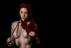 Tattoos and Violin VI by M-Lewis