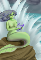 Mermaid - 30 Monster Challenge by S-Chenne