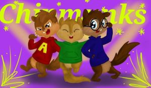 We're the Chipmunks!! by CartoonBoyfriends