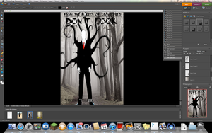 Movie poster assignment WIP 2 by Xan-Salstone