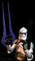 Now who has a light saber...errr Engery weapon? by SurfTiki