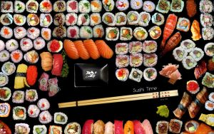 Sushi Time by Sant