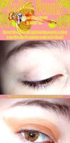 Sailor Venus Makeup Tutorial by kattors