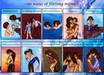 TLM - 10 ways of flirting meme by x-Lilou-chan-x