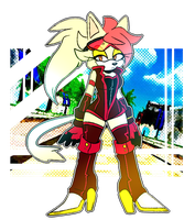 Sonic Riders: Amber by Maddzee