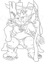 goblin king lines by CraftyTibbles