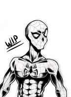 Spider Man WIP 2 by tonbo-kun