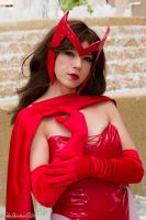 Scarlet Witch Pensive by HollyGloha