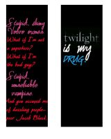 twilight bookmark by wolfie93