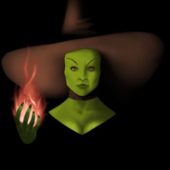 Wicked Witch! by PGMB