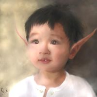 Elfling Boy -- A Portrait by vivenaishide