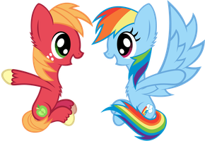 Rainbow And Big Mac by Scourge707