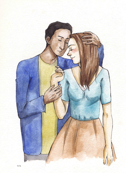 abed and annie by maybelletea
