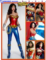 Many Faces of Wonder Woman by thedragonphoenic