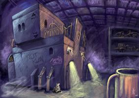 Ptiblub Background Design 1 by fabienmater