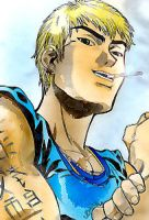 Onizuka GTO coloured version by ChocapicChick