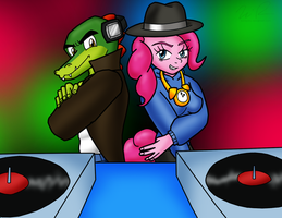 VectorPie Disc Jockeys by sonigoku