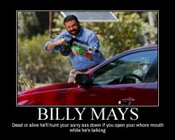 Billy Mays motive 2 by Redpyramidhead