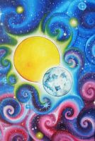 Sun and Moon by Kyla-Nichole
