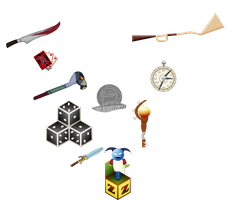 Weapons of American Mcgee's Alice by Blackmoonrose13