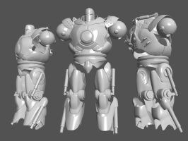 Iron Monger WIP by D3r3x