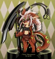 Pixiv Fantasia characters by dragoon86