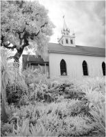 Hawaii Island Church by rsiphotography