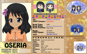 CNSY ID: Oseria by RJAce1014