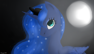 Mare of the Moon by KinziGamer