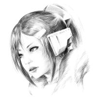 XBox One Sketch by Mikeinel