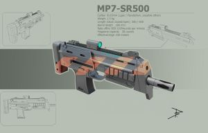 MP7-SR500 by BugraHekimhan