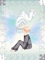 Two Pieces of The Puzzle by wolframxkuma