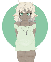 Gift: Avariah Keya Syviis THE CUTIE by cottoncloudyfilly