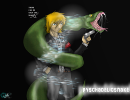 pyschadelicsnake only one by petplayer976