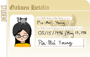 Pin Mei Student ID (GH) by AvalonMelody