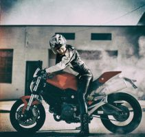 Me and one of my Ducati by Sweetlylou