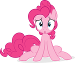 Disappointed Pinkie Vector by scrimpeh