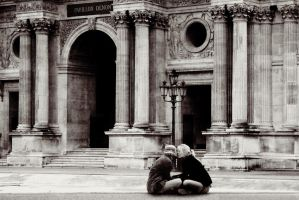 French Kiss by ixabar