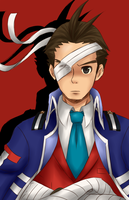 Apollo in Phoenix Wright 5 by adricarra