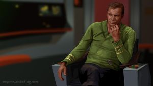 Captain James T Kirk by Ammotu