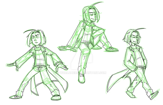 In-Progress: Ludey - Dynamic Pose exercises by WorldHero