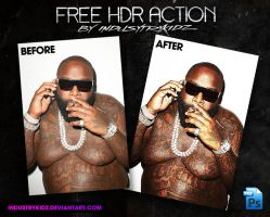 FREE HDR PHOTOSHOP ACTION by Industrykidz