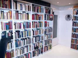 My Working Room and Home Library by hplhu